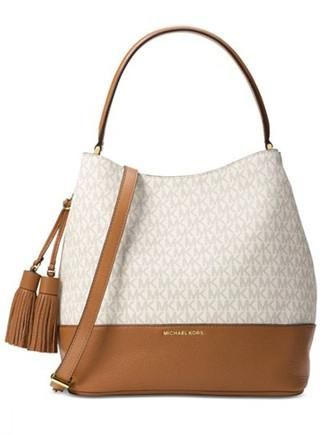 Michael Michael Kors Kip Large Signature Bucket Bag