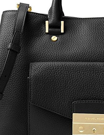 Michael Michael Kors Haley Large Leather Satchel