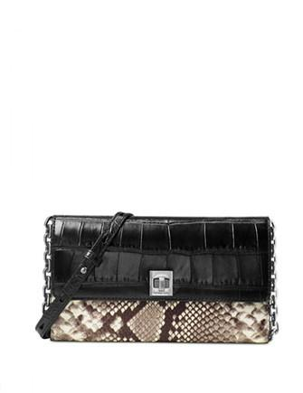 Michael Michael Kors Natalie Extra Large Wallet On A Chain