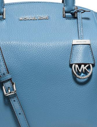Michael Michael Kors Riley Large Pebbled Leather Satchel
