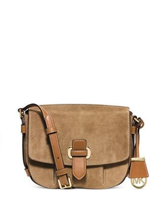 Michael Michael Kors Romy Suede Medium Messenger