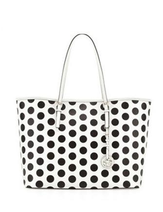 Michael Michael Kors Medium Jet Set Polka Dot Travel Tote