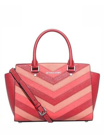 Michael Michael Kors Medium Selma Chevron Satchel