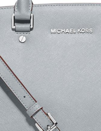 Michael Michael Kors Medium Selma Saffiano Zip Satchel