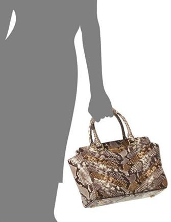 08d735c49bf56 Michael Michael Kors Embossed Python Selma Medium Satchel