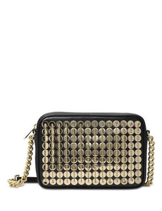Michael Michael Kors Sequins Pouchs Medium Camera Crossbody