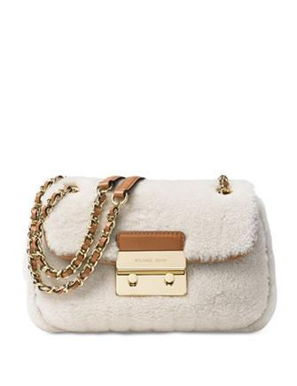 Michael Michael Kors Sloan Shearling Small Chain Shoulder Bag