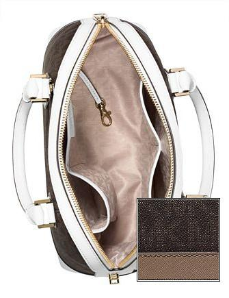 Michael Michael Kors Smythe Large Signature Dome Satchel