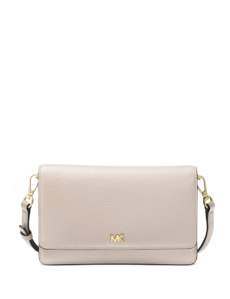 Michael Michael Kors Mott Pebble Leather Phone Crossbody Wallet