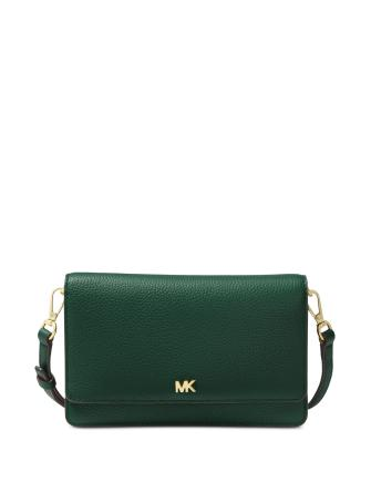 f8056bc8002f Michael Michael Kors Pebble Leather Phone Crossbody Wallet | Brixton ...