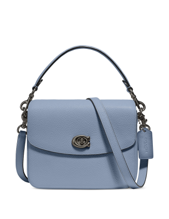 Coach Polished Pebbled Leather Cassie Crossbody 19