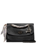 Coach Polished Leather Shoulder Bag