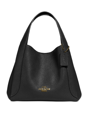 Coach Polished Pebble Leather Hadley Hobo 21