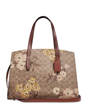 Coach Prairie Coated Canvas Signature Charlie Carryall