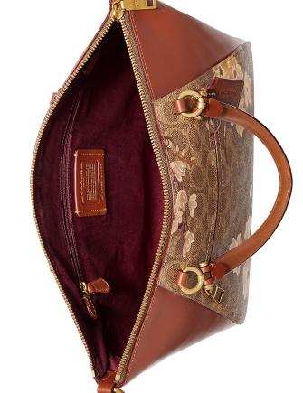 Coach Prairie Coated Canvas Signature Prairie Satchel