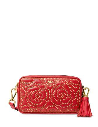 Michael Michael Kors Quilted Stud Camera Bag