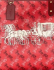 Coach Reversible City Tote With Horse and Carriage Print