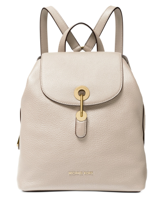 Michael Michael Kors Raven Leather Backpack