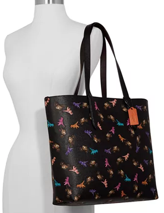 Coach Rexy And Carriage Repeat Print Highline Tote