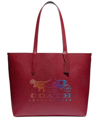 Coach Rexy and Carriage Print Highline Tote