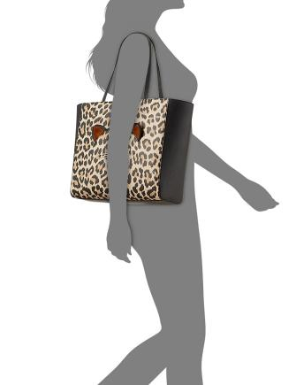 Kate Spade New York Run Wild Leopard Hallie Medium Tote