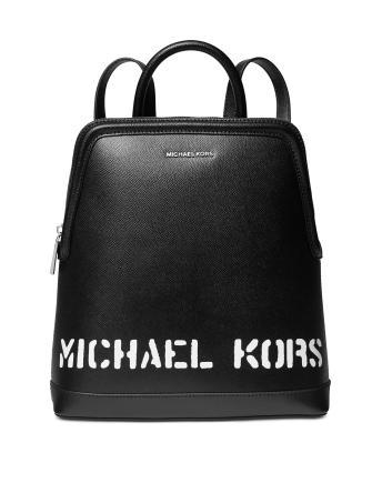 Michael Michael Kors Saylor Crossgrain Leather Backpack