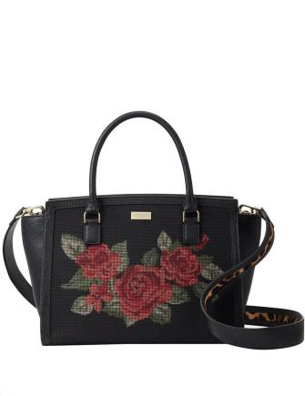 Kate Spade New York Seeley Lane Lana Rose Jacquard Satchel