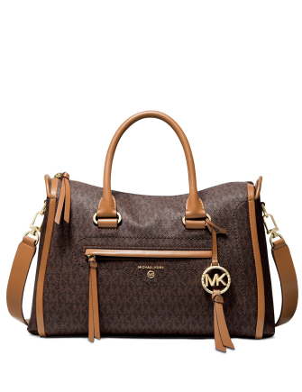 Michael Michael Kors Signature Carine Medium Satchel