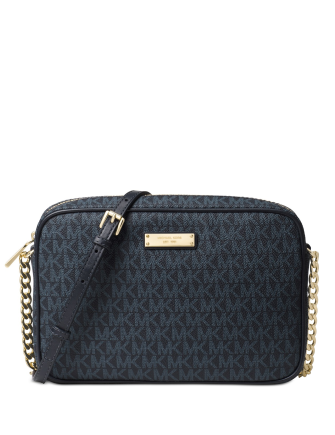 Michael Michael Kors Signature Jet Set Item Large East West Crossbody