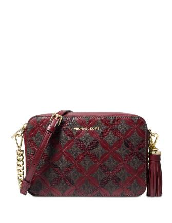 Michael Michael Kors Signature Floral Camera Bag