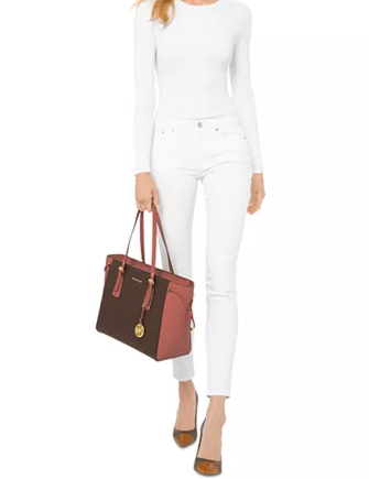 Michael Michael Kors Signature Voyager Multi Function Top Zip Tote