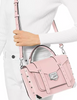 Michael Michael Kors Med Top Handle Leather School Satchel
