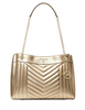 Michael Michael Kors Susan Metallic Medium Shoulder Bag