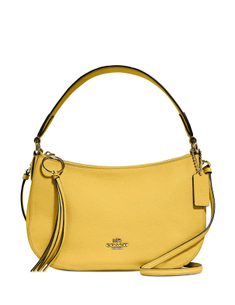 Coach Sutton Crossbody in Polished Pebble Leather