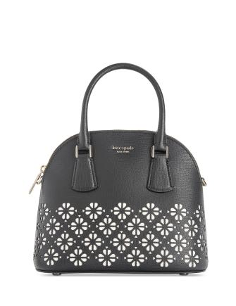 Kate Spade New York Sylvia Medium Perforated Leather Satchel