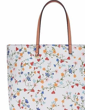 Tory Burch Delphi Floral Kerrington Square Tote