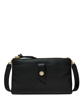 Michael Michael Kors Tab Leather Crossbody Bag