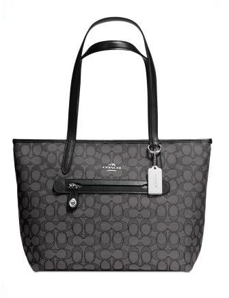 Coach Taylor Tote in Signature Jacquard