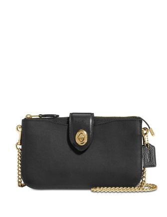 Coach Turnlock Crossbody in Refined Leather
