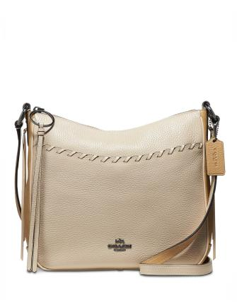 Coach Whipstitch Colorblock Chaise Leather Crossbody