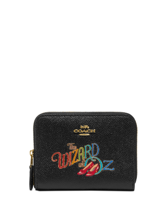 Coach Wizard of the Oz Small Zip-Around Leather Wallet