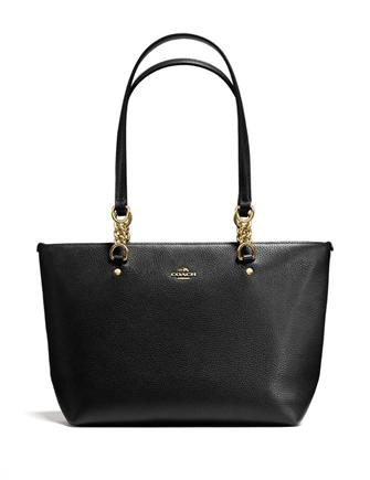 Coach Sophia Tote in Pebble Leather