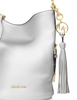 Michael Michael Kors Brooke Pebble Leather Bucket Shoulder Bag