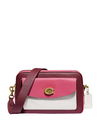 Cassie Colorblock Leather Camera Bag