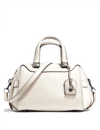 Coach Ace Zip Top Satchel in Glove Tanned Leather