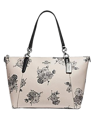 Coach Ava Tote With Fairy Tale Floral Print