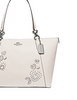 Coach Ava Tote With Heart Bandana Rivets
