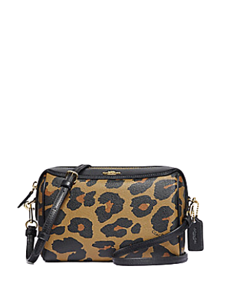 Coach Bennett Crossbody in Leopard Print