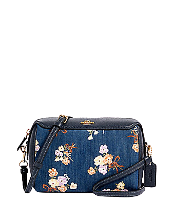 Coach Bennett Crossbody in Painted Floral Box Print