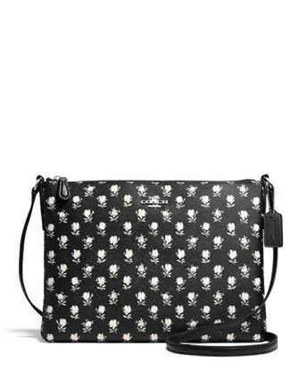 Coach Americana Crossbody in Floral Print Coated Canvas